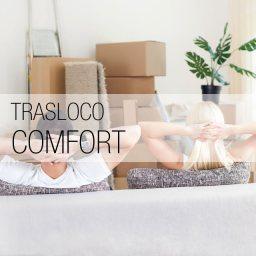 Scegli il Trasloco Comfort e pensiamo a tutto noi! Imballiamo i vostri effetti personali, smontiamo i mobili, effettuiamo il trasporto del Trasloco in tutta Roma, rimontiamo i vostri mobili e riposizioniamo tutte le vostre cose nella nuova casa.
